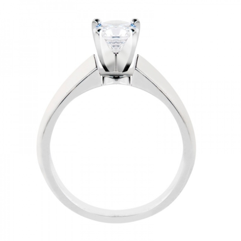 3-4-ctw-knife-edge-solitaire-diamond-engagement-ring-in-14k-white-gold-si 35 Fascinating & Stunning Round Solitaire Engagement Rings