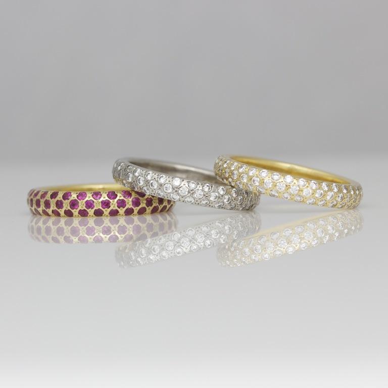 3 55 Fascinating & Marvelous Ruby Eternity Rings