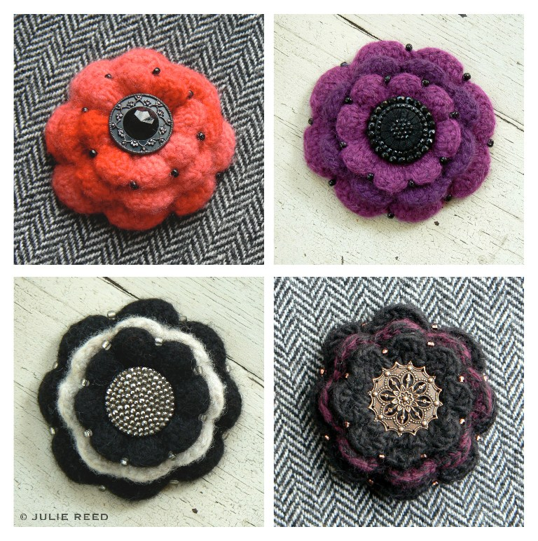 3042054947_5a5b2ebaff_o 45 Handmade Brooches to Start Making Yours on Your Own