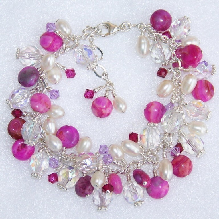 378-M-popup 65 Fabulous & Stunning Handmade Beaded Gemstone Jewelries