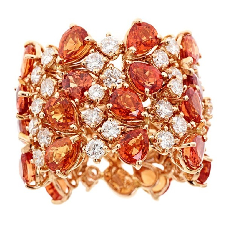 38996_31 40 Elegant Orange Sapphire Rings for Different Occasions