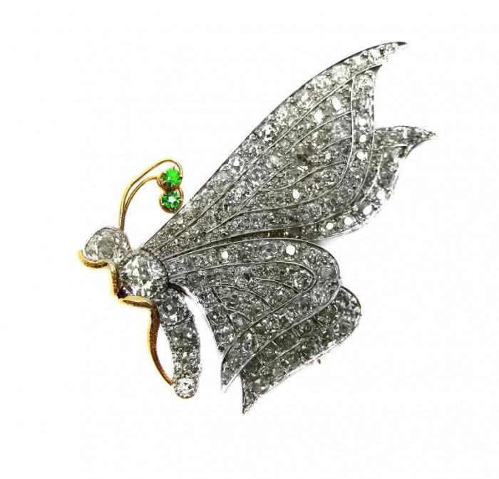 39779 35 Elegant & Wonderful Antique Diamond Brooches