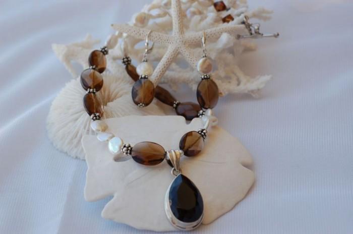 4-10-1000 65 Fabulous & Stunning Handmade Beaded Gemstone Jewelries