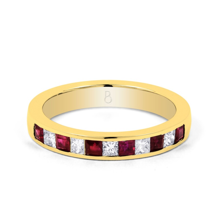 400806a 55 Fascinating & Marvelous Ruby Eternity Rings