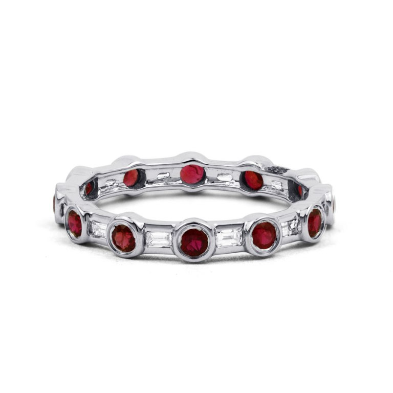 400846a-900x900 55 Fascinating & Marvelous Ruby Eternity Rings