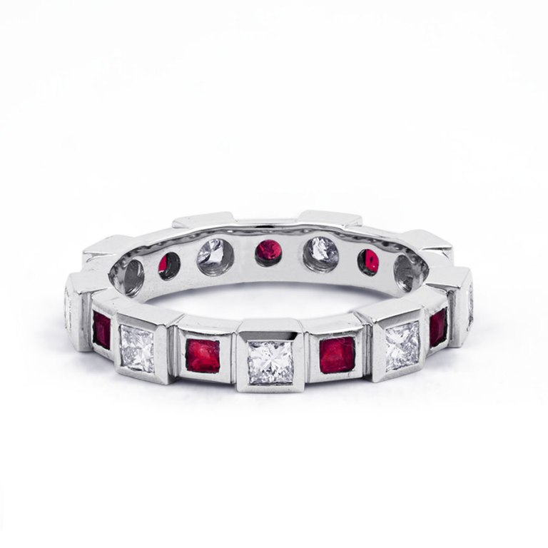 400976a-900x900 55 Fascinating & Marvelous Ruby Eternity Rings