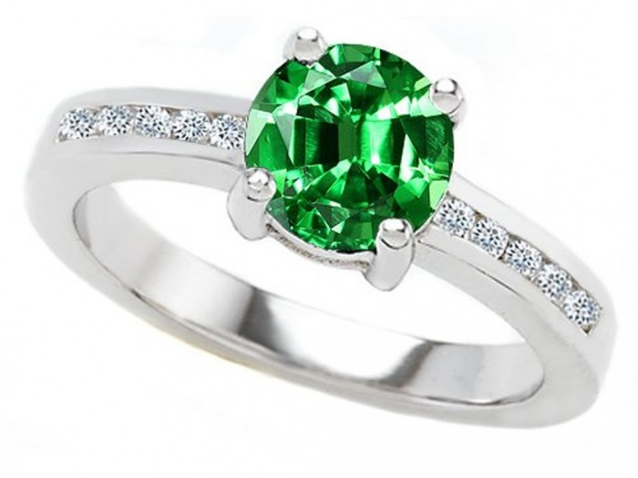 41XpREgTXJL 60 Magnificent & Breathtaking Colored Stone Engagement Rings