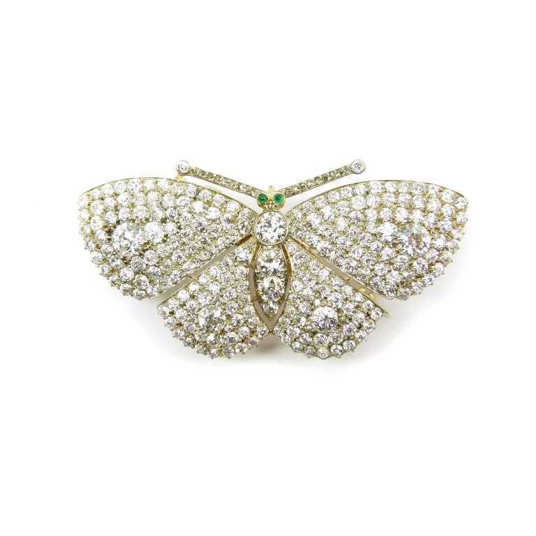 42457 35 Elegant & Wonderful Antique Diamond Brooches