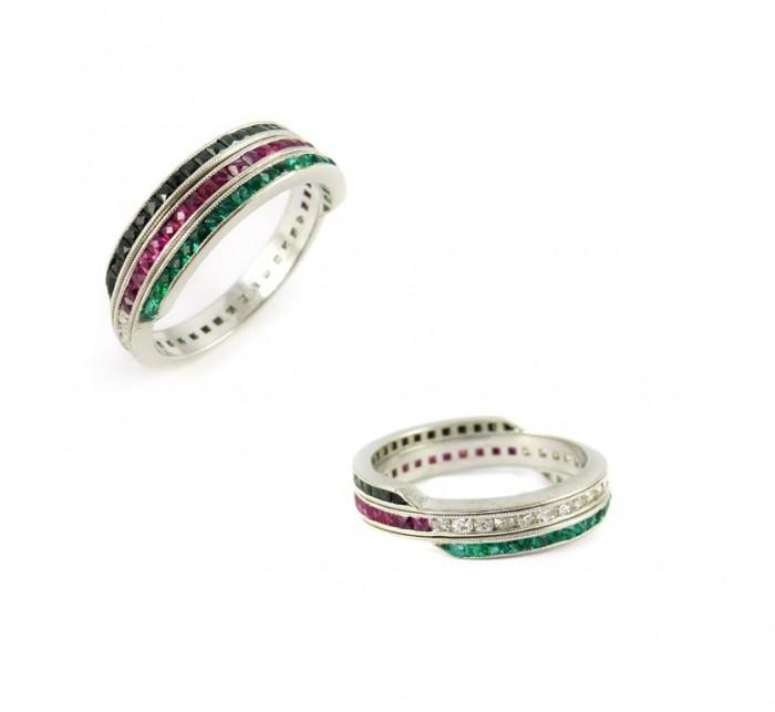 43937 55 Fascinating & Marvelous Ruby Eternity Rings