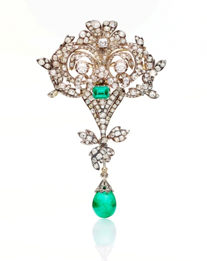 455304.bunda_ 35 Elegant & Wonderful Antique Diamond Brooches