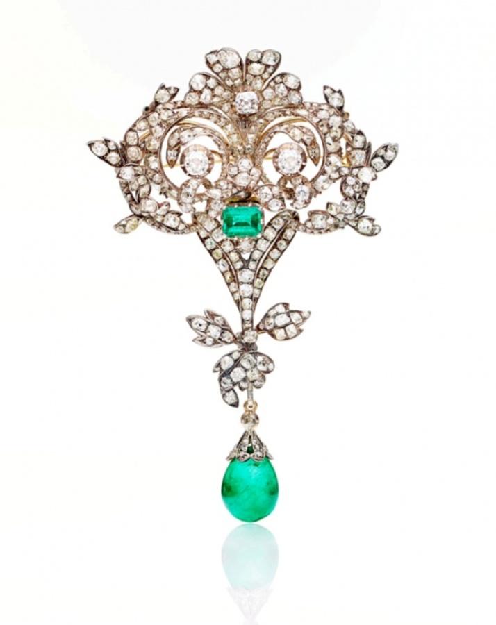 455304.bunda_ 35 Elegant & Wonderful Antique Diamond Brooches