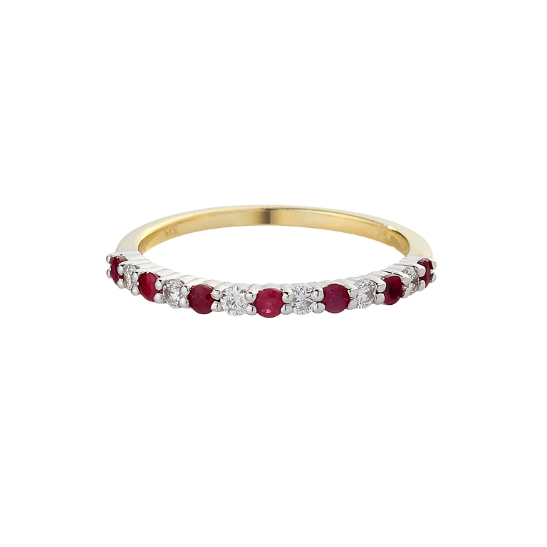 4fa8ae15b8be26402d301290bd1db3ea 55 Fascinating & Marvelous Ruby Eternity Rings