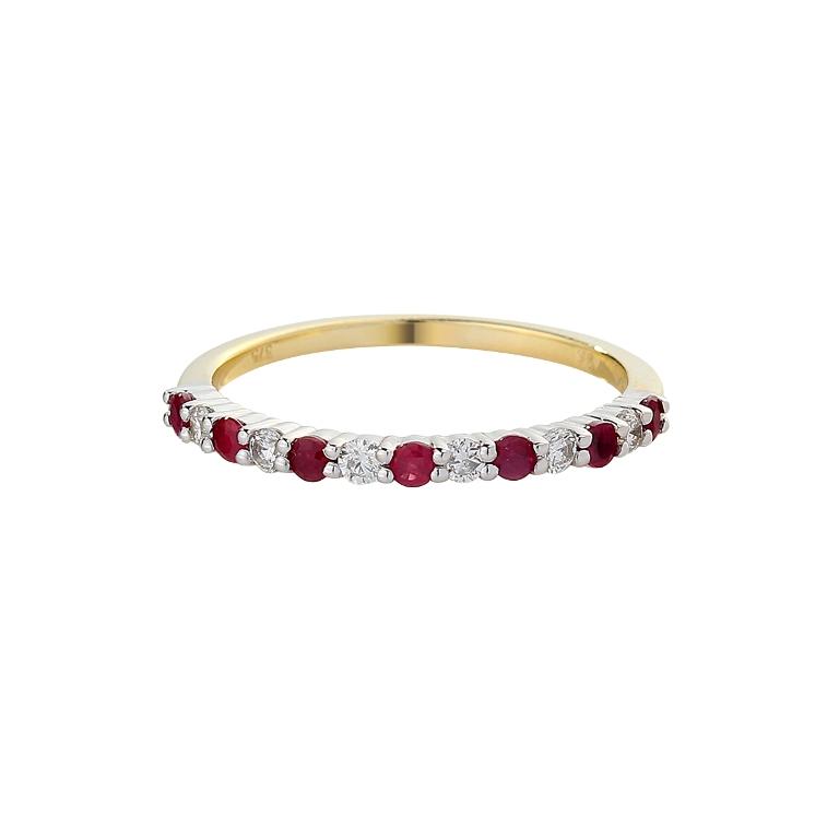 4fa8ae15b8be26402d301290bd1db3ea 55 Fascinating & Marvelous Ruby Eternity Rings