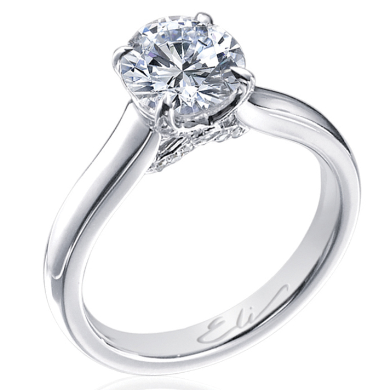 5a510b7014204aa380597bd630d1d1ca-700x700 35 Fascinating & Stunning Round Solitaire Engagement Rings