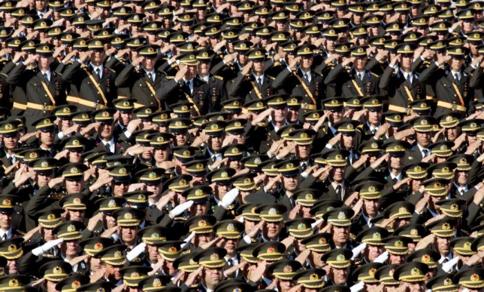 6.-Turkey_1 Top 15 Highest Spending Governments on Their Military in the World