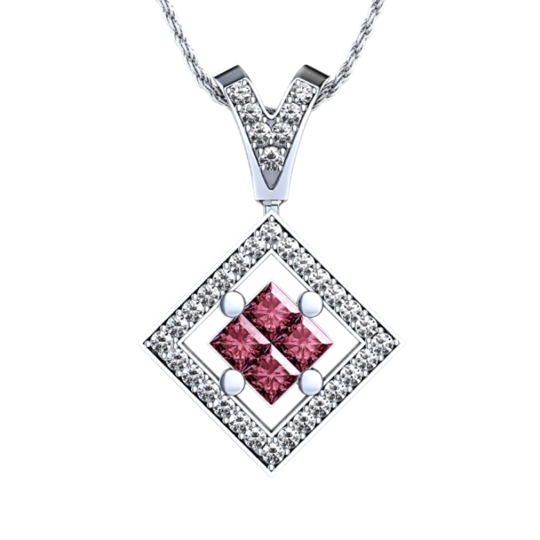 601_ruby_diamond_pendant_top 50 Unique Diamond Necklaces & Pendants