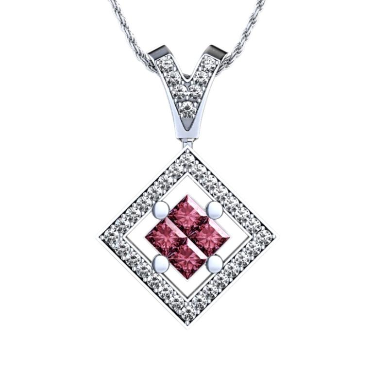 601_ruby_diamond_pendant_top 50 Unique Diamond Necklaces & Pendants