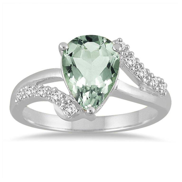 60203652 30 Fascinating & Dazzling Green diamond rings