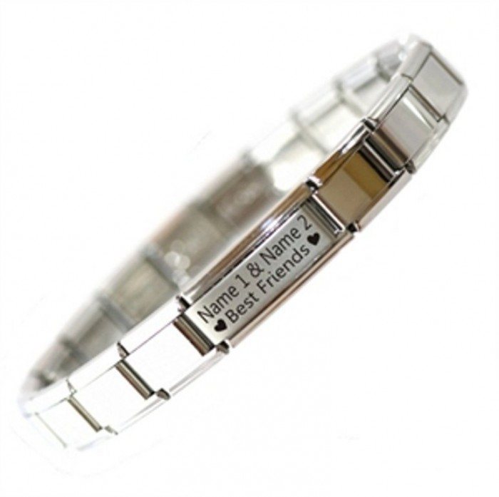 61scHiyp6tL._SL1200_ 25 Amazing & Catchy Italian Link Charm Bracelets