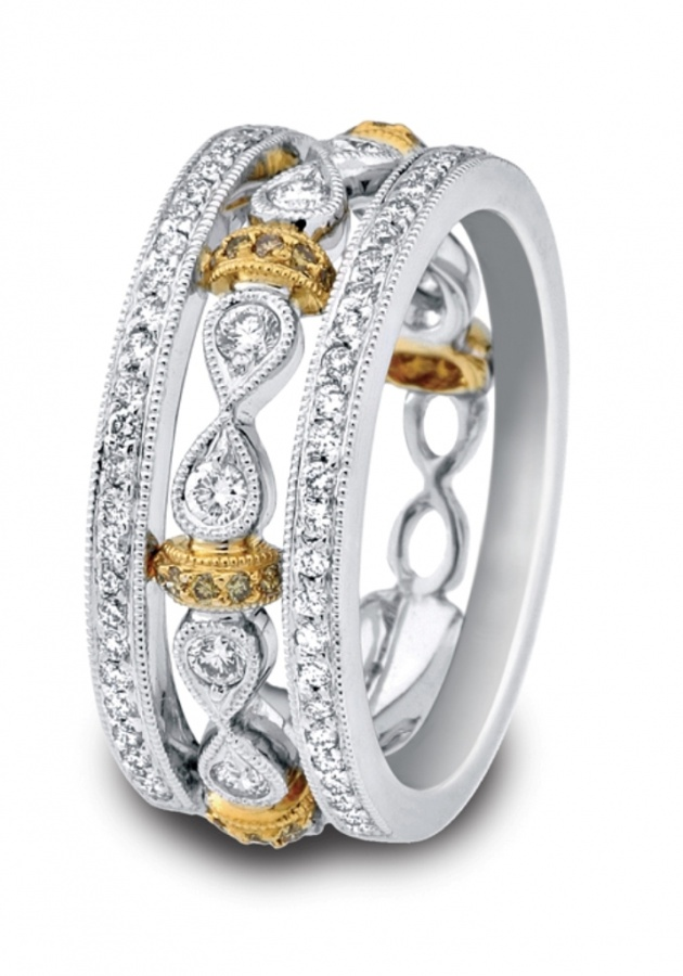 6760-B 60 Magnificent & Breathtaking Colored Stone Engagement Rings