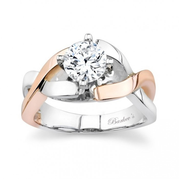 6833L Top 70 Dazzling & Breathtaking Rose Gold Engagement Rings