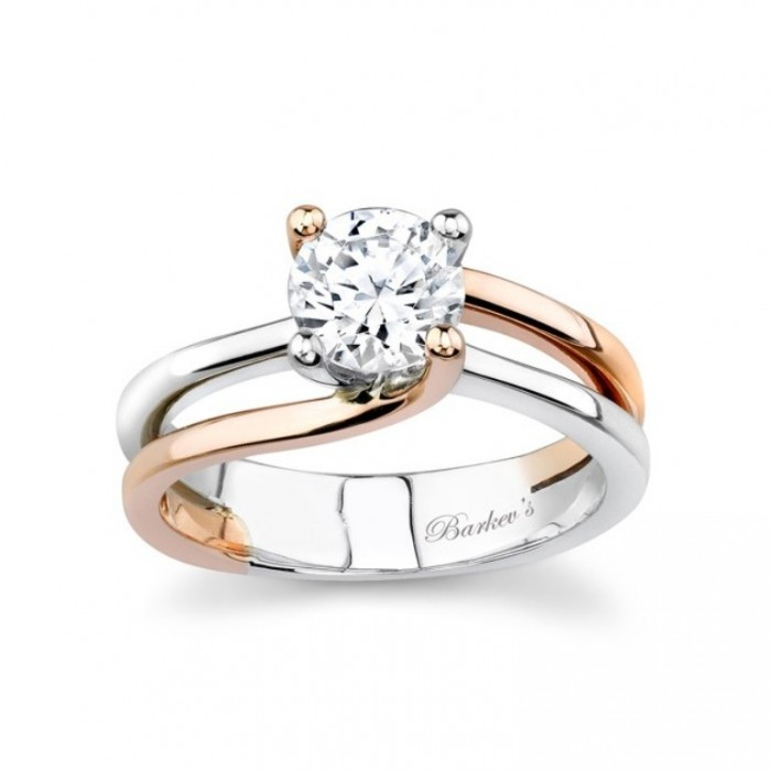 6884LP Top 70 Dazzling & Breathtaking Rose Gold Engagement Rings