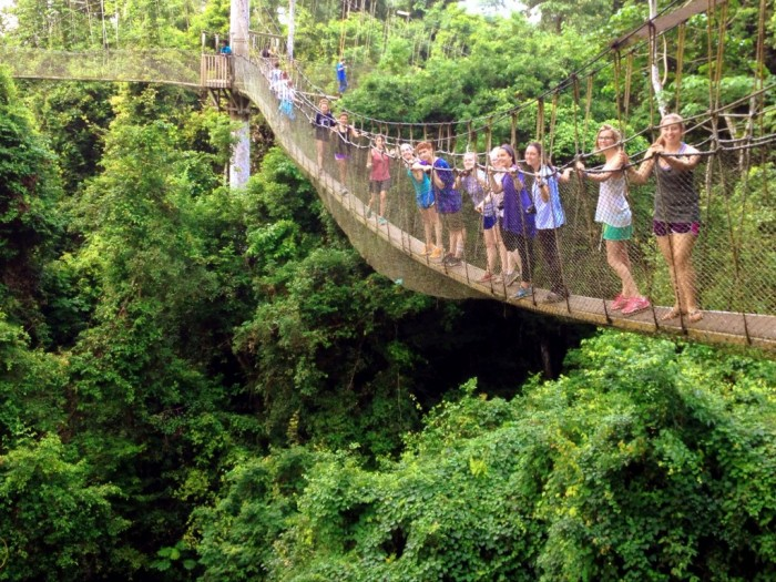 7.-Kakum-National-Park-canopy-walk-1024x768 The World's 15 Scariest Bridges that Will Freeze Your Heart