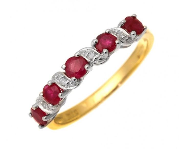 71WYkXFXjTL._SL1500_ 55 Fascinating & Marvelous Ruby Eternity Rings
