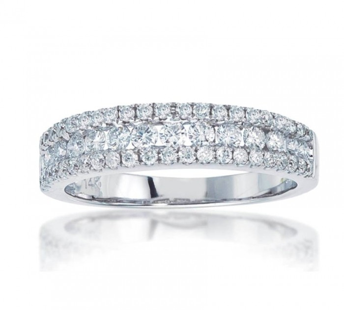 72586D 60 Breathtaking & Marvelous Diamond Wedding bands for Him & Her