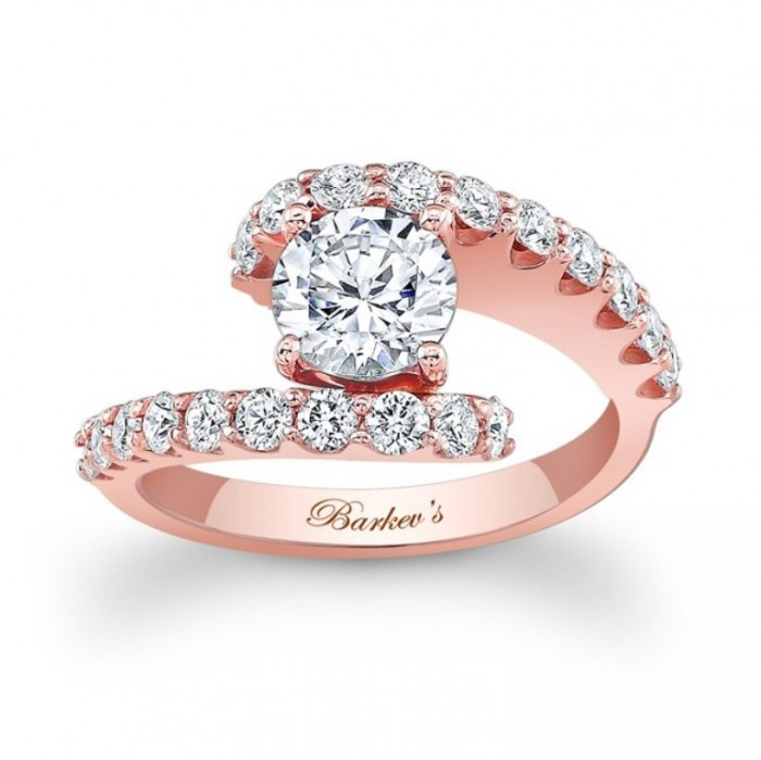 7737lp Top 70 Dazzling & Breathtaking Rose Gold Engagement Rings