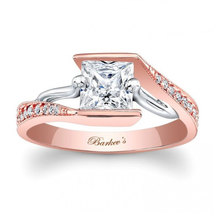 7924ltw_rose_gold_engagement_ring Top 70 Dazzling & Breathtaking Rose Gold Engagement Rings
