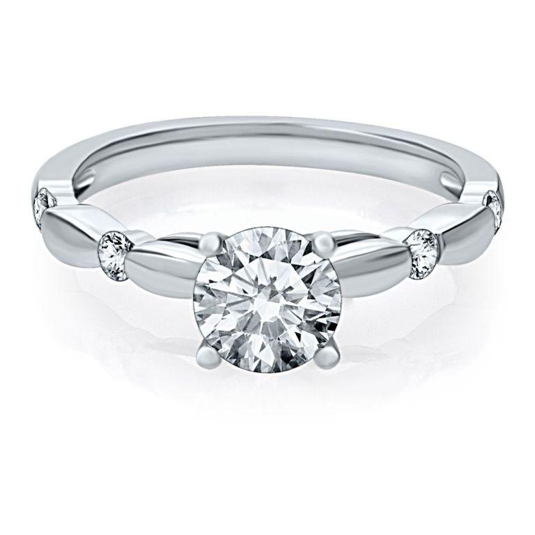 82979_helzburg-diamonds-78-ct-tw-diamond-solitaire-engagement-ring-in-14k-gold-1382929307-270 35 Fascinating & Stunning Round Solitaire Engagement Rings