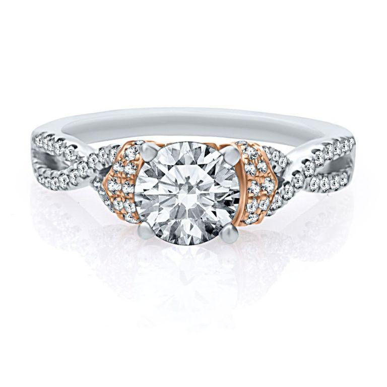 82979_helzburg-diamonds-artistetm-by-scott-kay-13-ct-tw-diamond-semi-mount-engagement-ring-in-14k-gold-1386350615-866 Top 70 Dazzling & Breathtaking Rose Gold Engagement Rings
