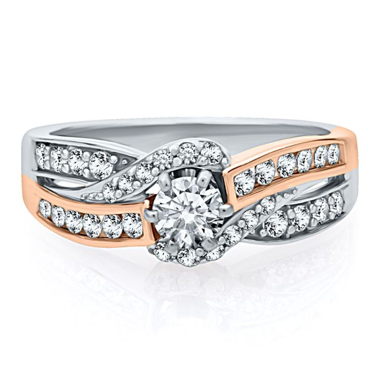 82979_helzburg-diamonds-helzberg-diamond-symphonies-34-ct-tw-diamond-engagement-ring-in-14k-gold-1375758070-105 Top 70 Dazzling & Breathtaking Rose Gold Engagement Rings