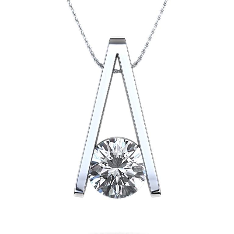 9736_pinnacle_diamond_pendant_top 50 Unique Diamond Necklaces & Pendants