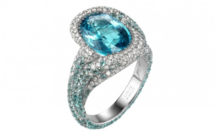 980chopard827677-1001 60 Magnificent & Breathtaking Colored Stone Engagement Rings