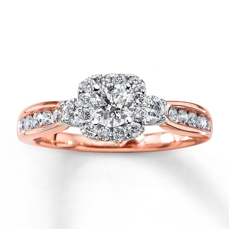 990868402_MV_ZM Top 70 Dazzling & Breathtaking Rose Gold Engagement Rings