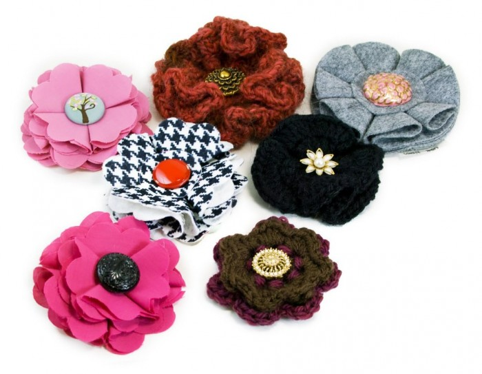 9_2010_Brooches 45 Handmade Brooches to Start Making Yours on Your Own