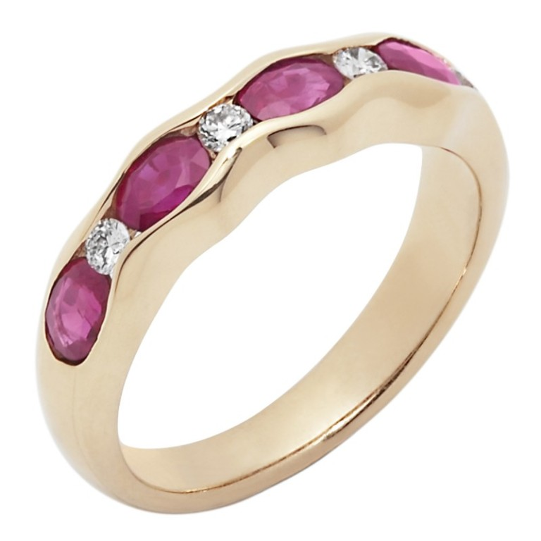 A1154004_1 55 Fascinating & Marvelous Ruby Eternity Rings