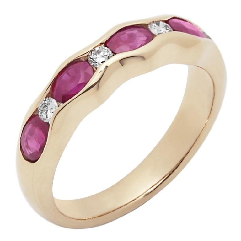 A1154004_1 55 Fascinating & Marvelous Ruby Eternity Rings