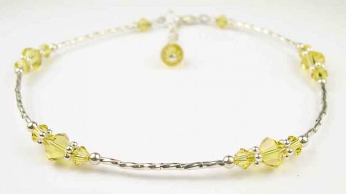 ASW11-Citrine 65 Fabulous & Stunning Handmade Beaded Gemstone Jewelries