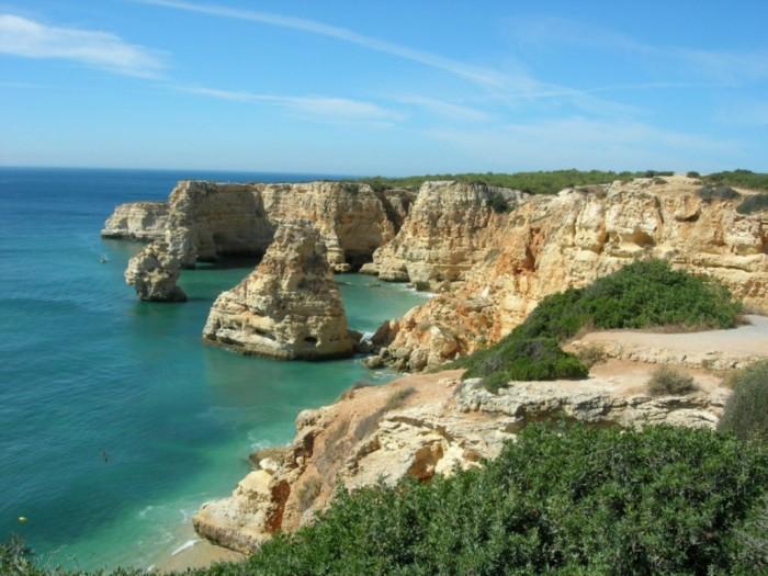 Algarve-1 Top 10 Best Countries to Visit in Europe 2020