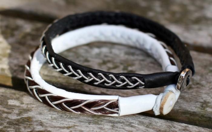 Armband_800 45 Elegant & Breathtaking Horse Hair Bracelets