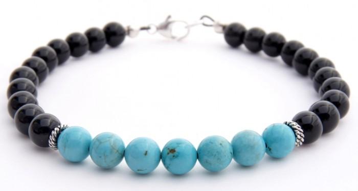 BMNCLRBLK-5a 40 Elegant & Catchy Handmade Men's Jewelry
