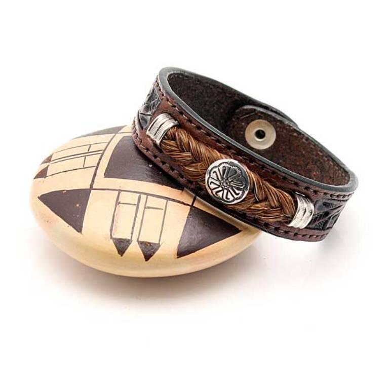 BRBLC-003a 45 Elegant & Breathtaking Horse Hair Bracelets