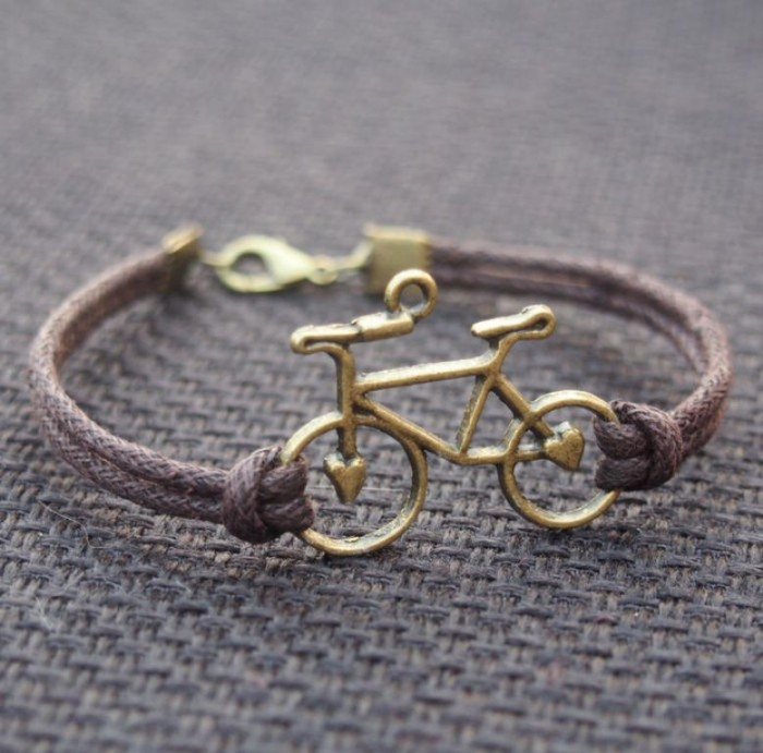 Bike-bracelet-for-men-for-boy-friend-for-father 40 Elegant & Catchy Handmade Men's Jewelry