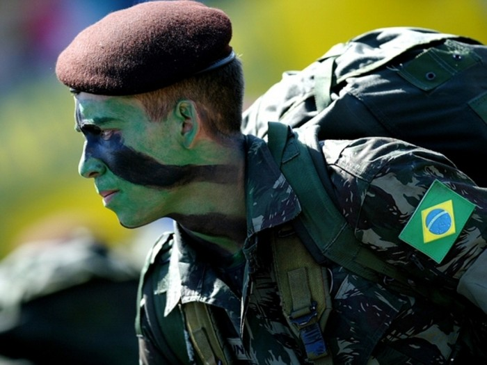 Brazil Top 15 Highest Spending Governments on Their Military in the World