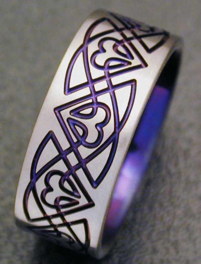 CK08-Purple 40 Unique & Unusual Wedding Rings for Him & Her