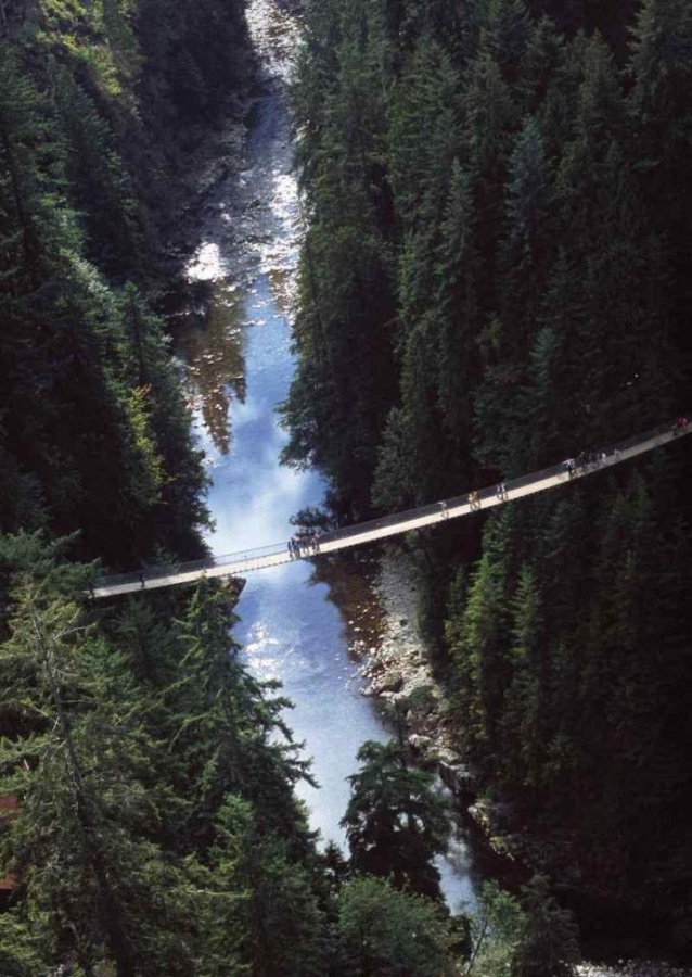 Canada_Vancouver_Capilano_Suspension_Bridge_44419a29041e4944a334d499a41d2655 The World's 15 Scariest Bridges that Will Freeze Your Heart