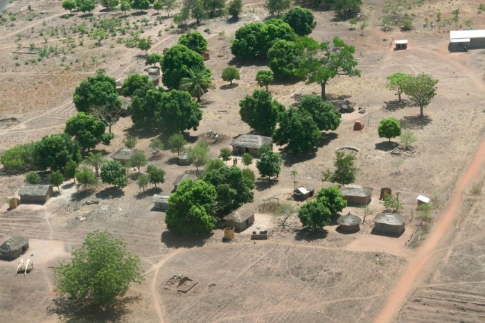 Central-African-Republic-CARvillagefromthesky Top 10 Worst Quality of Life Countries
